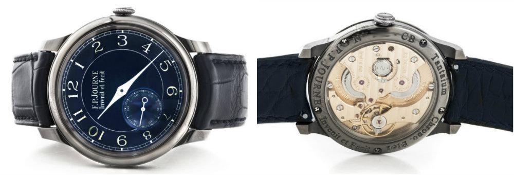 FP Journe Chronometre Bleu CB