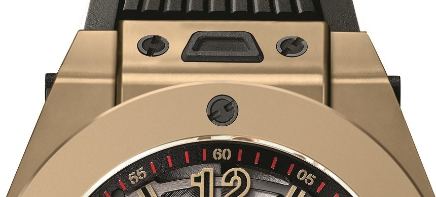 Hublot Big Bang Tourbillon 5-day Power Reserve Indicator Full Magic Gold Watch