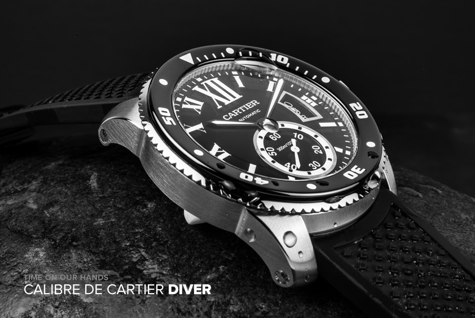 Calibre de Cartier Diver Replica Watch