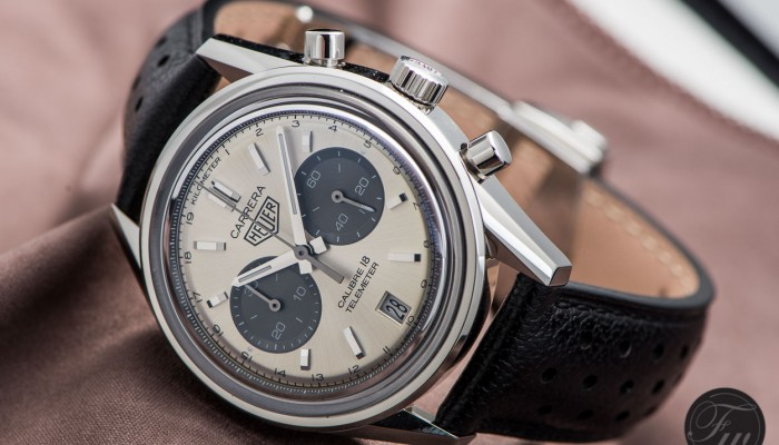 Hands-on: The TAG Heuer Carrera Telemeter Cal.18